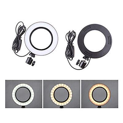 Dimmable Led Studio Camera Ring Light Photo Phone Video Light Annular Lamp Ry