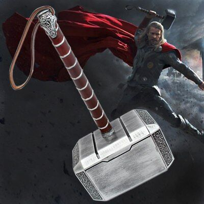 Avengers thors hammer 1:1 Cosplay costume Thor Weapon Replica