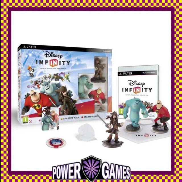Disney Infinity 1.0 Starter Pack PS3 (Sony PlayStation 3) Brand New