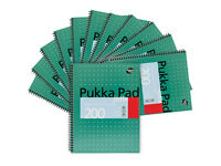 Pukka Pad A4 Wirebound Ruled Jotta Notebook - 100 Sheets Pack of 6