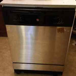 GE Stainless Steel Portable Dishwasher