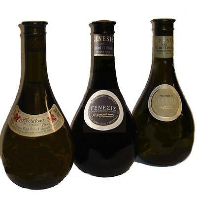 Kechri Mix 3x 500ml Retsina Kechribari und Genesis Rot- und Weißwein