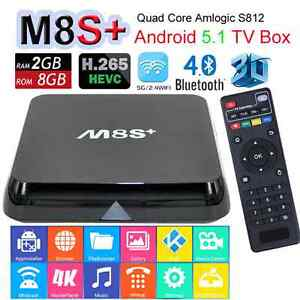 M8S+ ANDROID TV BOX, WITH TECH SUPPORT