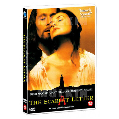 The Scarlet Letter (1995) DVD - Demi Moore (New *Sealed *All Region)