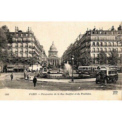 [75] Paris - Perspective de la Rue Soufflot et du Penthéon.