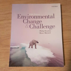 Environmental Change and Challenge: 5th Edition (BIO 1151)