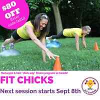 September FIT CHICKS Bootcamp - Save $80 Off!