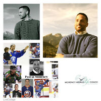 Former Pro Hockey Player -------> Turned World Life Coach