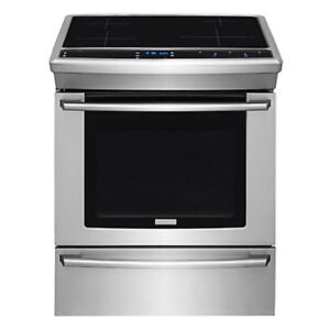 Electrolux 4.5 cu. ft. Slide-in Induction Range Stainless Steel