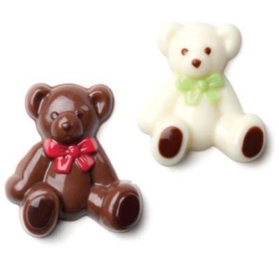 Teddy Bear Minis Chocolate Candy Mold Make 'N Mold 0048 Teddy Bear Candy Mold