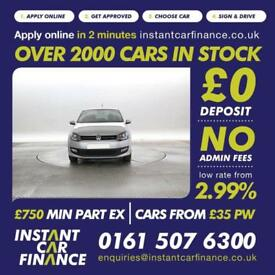 Volkswagen Polo 1.2 2013MY Match CREDIT PROBLEMS?? WE CAN HELP! 0161 507 6300
