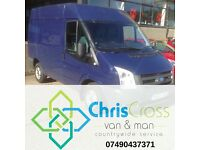 ChrisCross Van and Man Countrywide Services - Competitive and Friendly Service