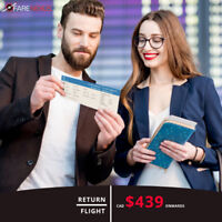 Return Flight Tickets | Calgary - New York