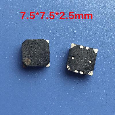 Mini Super Small 7525 Passive Smd Buzzer Electromagnetic Type 7.57.52.5mm Diy