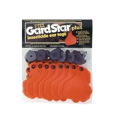 Gardstar Plus Insecticide Cattle Ear Tags 25 Count
