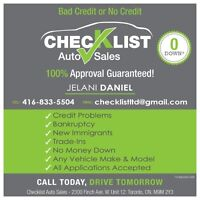 EASY APPROVAL O DOWN..INHOUSE FINANCING