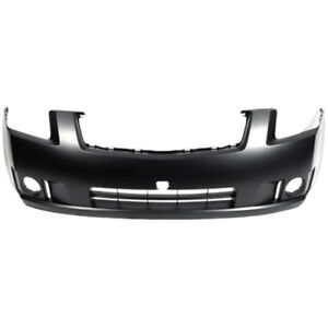 New Painted 2007-2009 Nissan Sentra Front Bumper & FREE shipping
