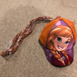 Elsa cap with braids $5