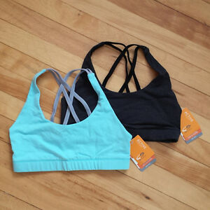 2 sports bras - new with tags