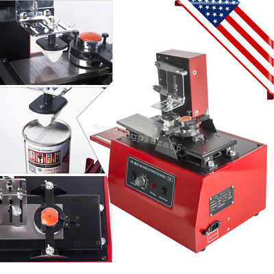 Electric Pad Printer Printing Machine T-shirt Inkprint Pvc Mug Ballpen Us Stock