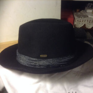 VINTAGE AUTHENTIC WALTER LONDON FEDORA HAT SIZE: 7 3/8
