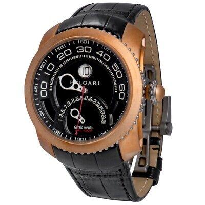 NEW Bvlgari Gerald Genta Gefica Bi-Retro Safari Men's Watch 101834 Retail $20500
