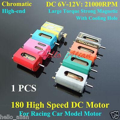Dc 6v 12v 21000rpm High Speed Large Torque Micro 180 Motor Rc Toy Racing Car Diy