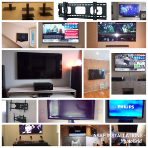 TV wall mount installation service 4165799032