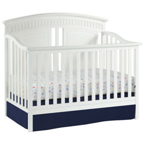 Thomasville Kids Majestic 4-in-1 Convertible Crib-White New in B