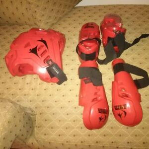 Professional sparring gear
