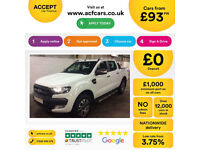 Ford Ranger 3.2TDCi 4x4 auto 2016MY Wildtrak FROM £93 PER WEEK!