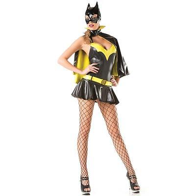 New Sexy Super Hero Batgirl Batwoman Halloween Costume Cosplay Bat Girl Outfit - Super Hero Outfit