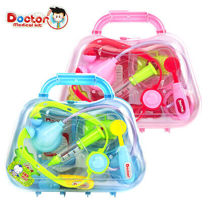 Kids Children Doctor Medical Case Toys Set Toddler Education Role Play Pretend