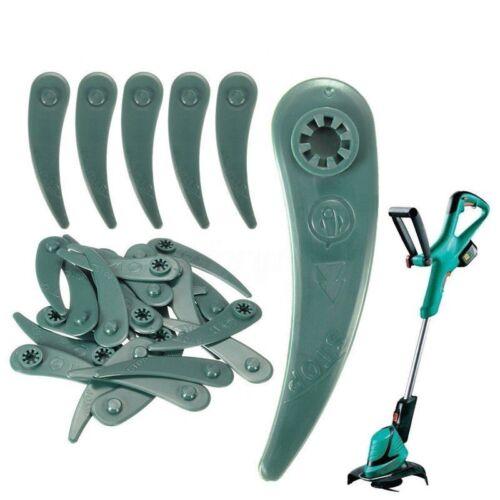 50x Durablade Kunststoffmesser Ersatzmesser für Bosch Rasentrimmer ART23-18LI