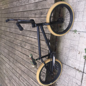 Custom BMX Bike with Odyssey Tires and Hub