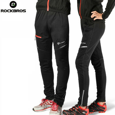 RockBros Cycling Hiking Outdoor Sporting Pants Casual Reflective Trousers Black