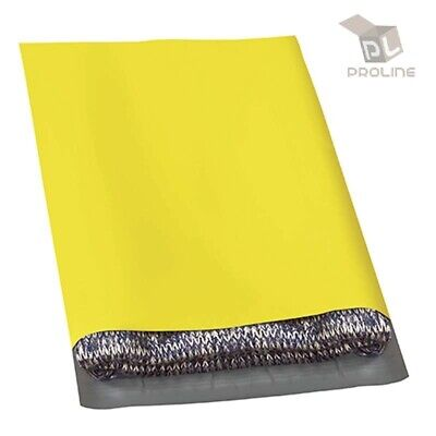 100 Poly Mailers 7.5x10.5 Shipping Bags Packaging Mailing Envelope Yellow