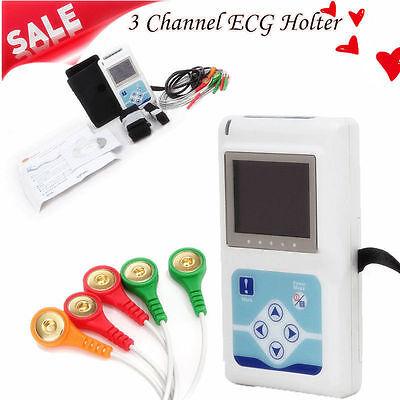 Tlc5007 Holter Ecgekg Dynamic 3 Channel 24 Hours Recorderanaluzer Pc Sw