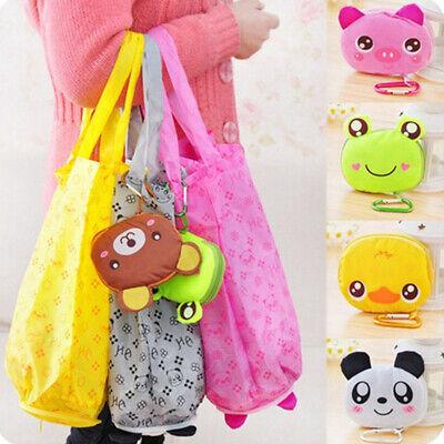 Cartoon Tote Bag (1PC Foldable Shopping Tote Bag Cartoon Animal Grocery Handbag Reusable Storage )