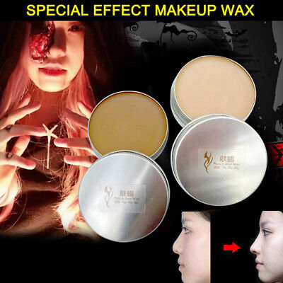 Halloween Wax Scars (Halloween Fancy Dress Fake Scar Wound Skin Wax Body Face Painting Make Up)