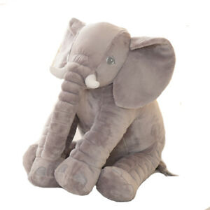 Plush Elephant Grey/Pink/Yellow [40cm] *New*