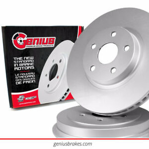 2009 MITSUBISHI ECLIPSE PREMIUM COATED FRONT BRAKE ROTOR