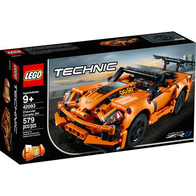 Lego Technic Chevrolet Corvette ZR1 Super Car Building Set - 42093 - NEW