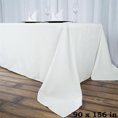 "Скатерть 90x156"" PREMIUM RECTANGLE Polyester TABLECLOTHS"