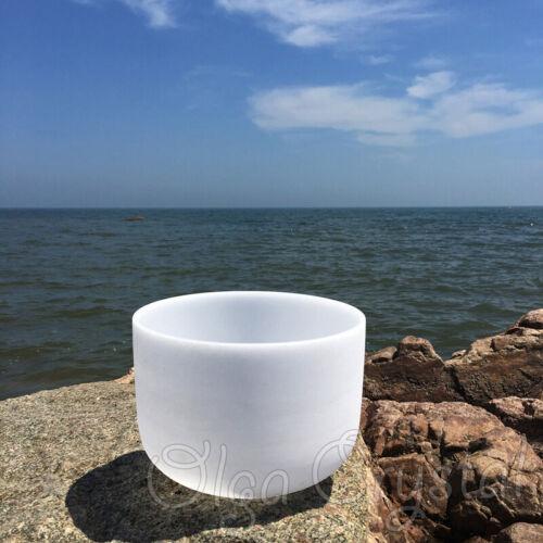 440HZ 10 Inch C Root Quartz Crystal Singing Bowl Chakra