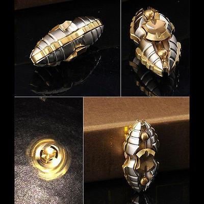Hand Spinner Fidget   Egyptian Beetle   Zn Titanium Alloy Classic 3 5 Minutes