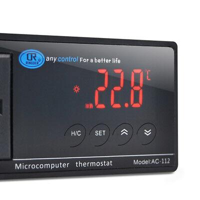 Digital Led Temperature Controller Thermostat 110v220v Perfect For Aquarium
