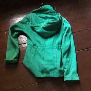 Green sweater/coat size extra small London Ontario image 2