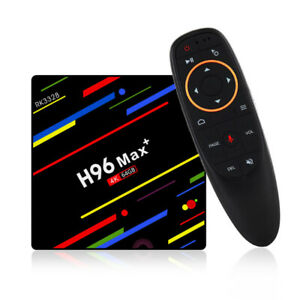 H96 Max Plus RK3328 4K Android 8.1 Smart TV Box,4G/64G