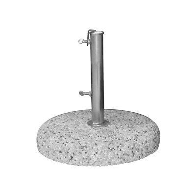 Base Cement Gravel for Umbrellas Ø 45 cm – kg 25 – Holes Min/Max 34/42 MM